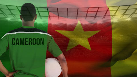 Cameroonian soccer player Animation