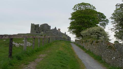 Famous Rock of Cashel in Ireland Footage