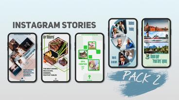 Instagram Stories Pack 2 After Effects Template
