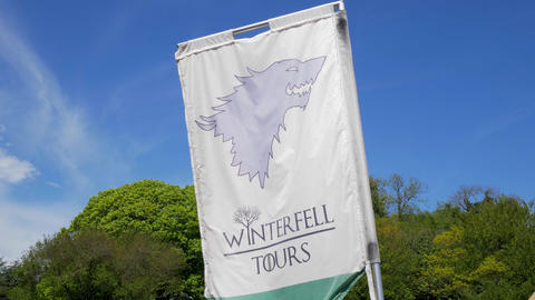 Game of Thrones Winterfell Tours at Castle Ward Northern Ireland - BELFAST Footage