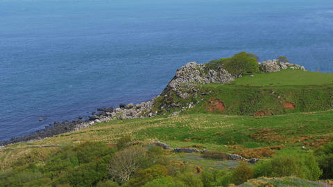 Beautiful Murlough Bay in Northern Ireland Live Action