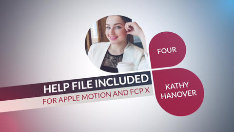 Corporate Identity Apple Motion Template