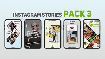 Instagram Stories Pack 3 After Effects Template