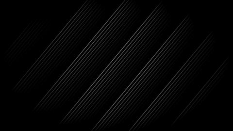 White Diagonal Stripes with black background. Seamless loop Animation