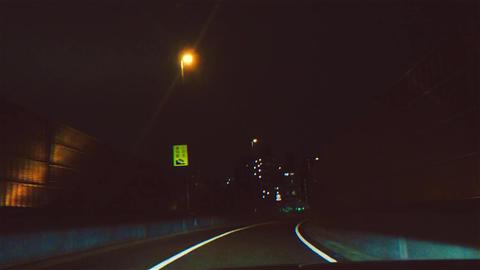Night Drive Tokyo 스톡 비디오 클립, 영상 소스, 스톡 4K 영상
