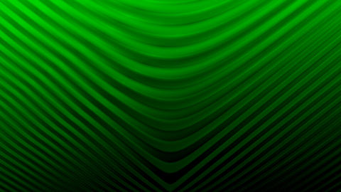 Curved lines background GREEN Animation