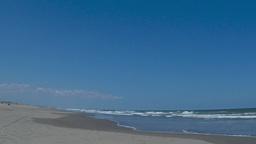 Sand and waves./千葉県九十九里浜 Footage