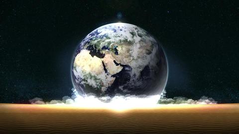 Energy Saving,Eco,Earth,loop,sand,position center Animation