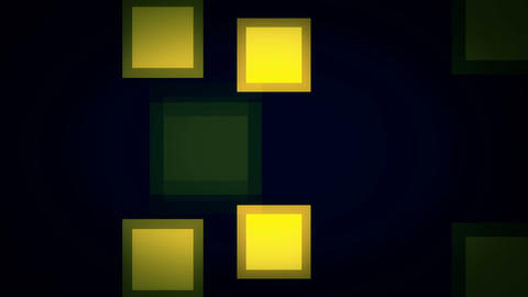 Motion background with animated squares. Seamless loop Animation