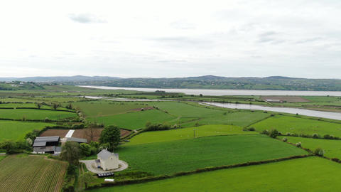 Manorcunningham view in Ireland with its breathtaking scenery Footage