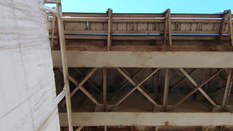 Bridge bottom view Live Action