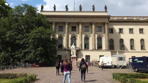 Humboldt University Of Berlin. 4K Footage