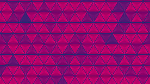Abstract bright glossy triangles texture video animation Animation