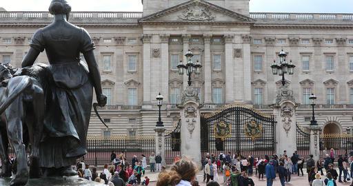 Buckingham Palace Footage