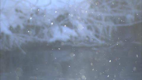 Diamond dust Stock Video Footage