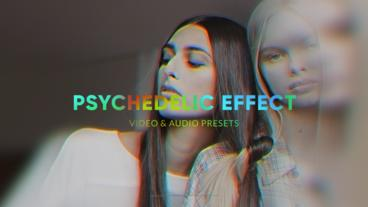 Psychedelic Effect Premiere Pro Template