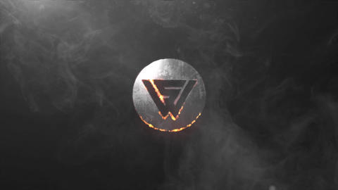 SMOKE FIRE GRUNGE LOGO INTRO After Effects Template