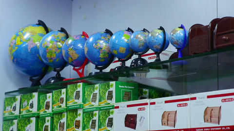 world globe kids different size Footage
