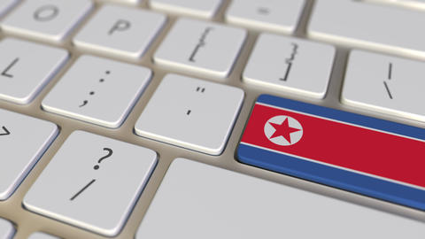 Key with flag of North Korea on the keyboard switches to key with flag of Live Action