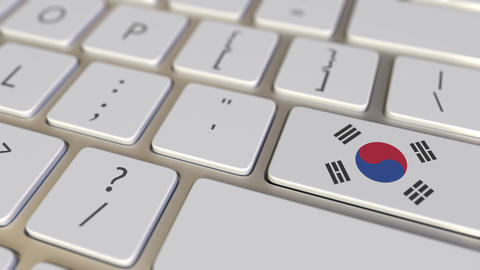 Key with flag of South Korea on the keyboard switches to key with flag of Live Action
