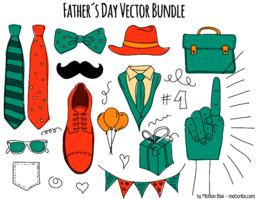 Father´s Day Pack Vector