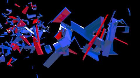 4K Text Bumper BREXIT 3 Animation