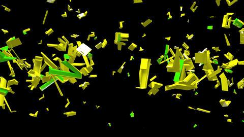 4K Text Bumper Democracy 2 Animation