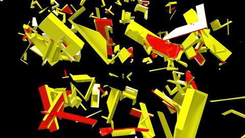 4K Text Bumper Tariff Man 2 Videos animados