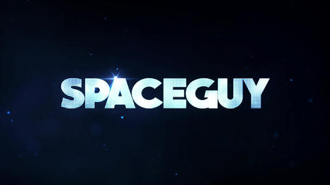 SpaceGuy Title Reveal After Effects Template