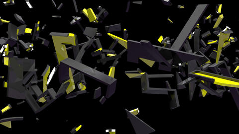 4K Text Bumper GDPR 4 Animation