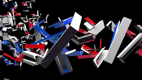 4K Text Bumper BREXIT 5 Animation