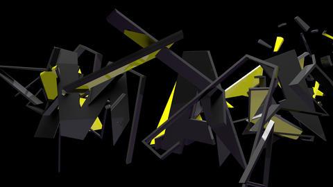 4K Text Bumper War 1 Animation