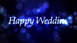Happy Wedding ループ ウェディング 素材 Animation