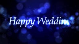 Happy Wedding ループ ウェディング 素材 CG動画