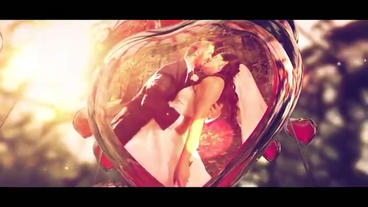 Garden Of Love - A Wedding Day stock footage