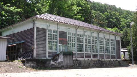日本原風景「昭和時代の体育館」 ライブ動画