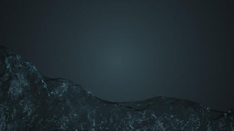 Water. Realistic animation. Stream of water Live Action