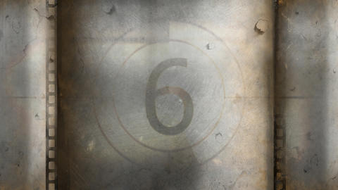 Creative vector illustration of countdown frame Animation