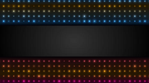 Neon led lights abstract background video animation Animation