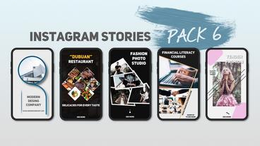 Instagram Stories Pack 6 After Effects Template