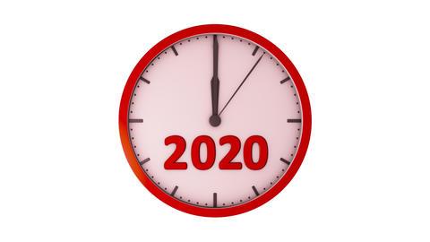 The clock 2020 Animation