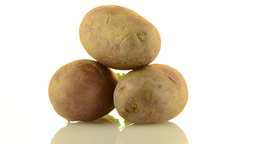 New potato tuber Stock Video Footage