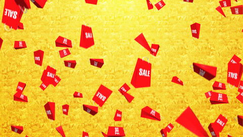 Sale bag Animation