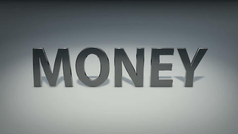 Metal Money Stock Video Footage