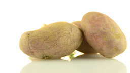 Red Potatoes stock footage