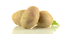 Red potatoes Stock Video Footage