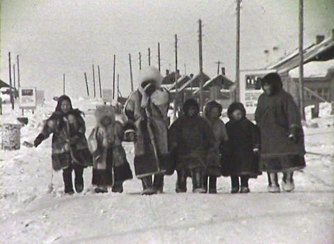 The Chukchi, polar explorers of the North Stock Video Footage