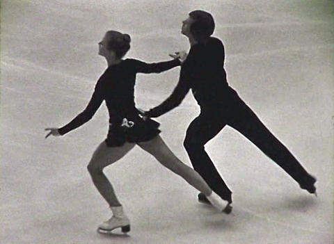 Figure skating. Newsreel of the USSR Footage