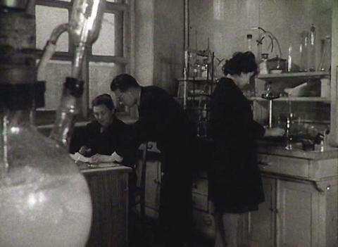 Chemical laboratory. Newsreel of the USSR Footage