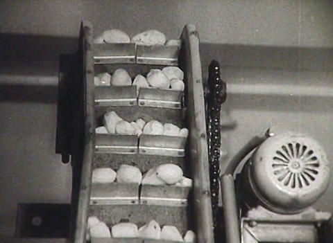 Cooks in the kitchen. Newsreel of the USSR Footage